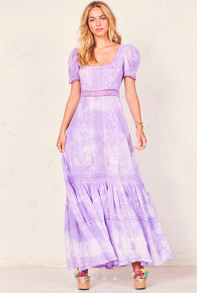 RYAN DRESS LAVENDER