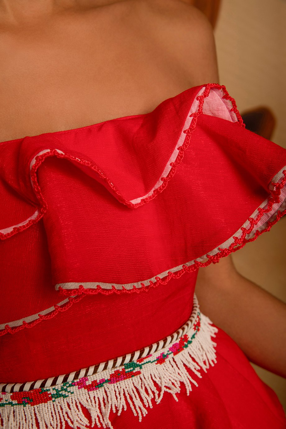 MABEL TOP RED