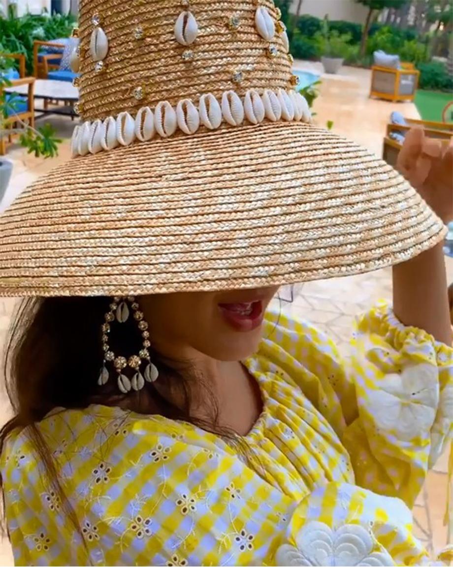 CAROL RINGSHELL NATURAL HAT