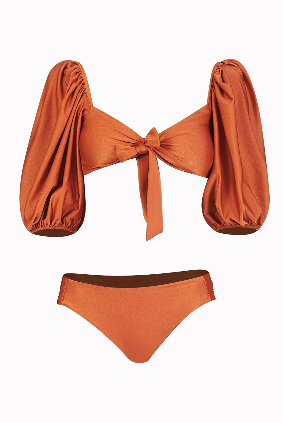 RUMBA BIKINI TOP AND BOTTOM TERRACOTA