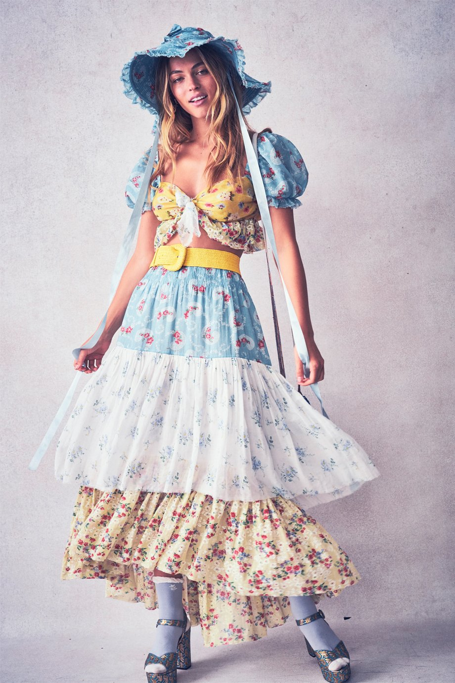 SOLEIL TO AND WEBER SKIRT
