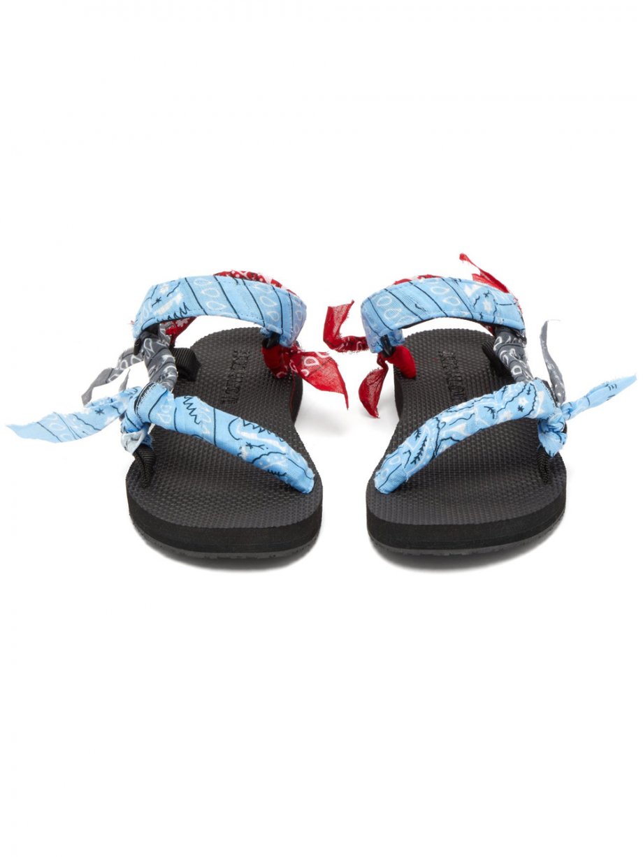 TREKKY BANDANA SANDALS MIX BLUE