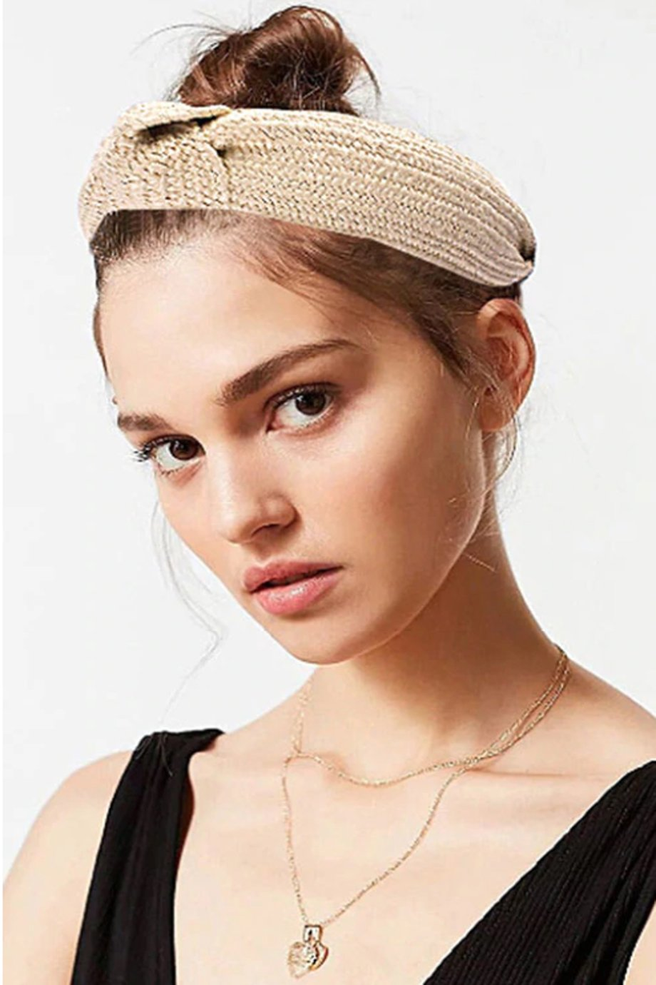 GIRLS KNOTTED TURBAN KNOT