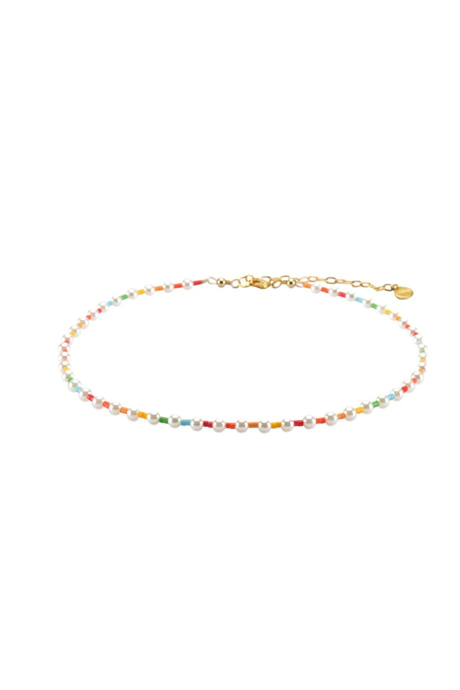 PEARLY CHOKER MULTI COLOR