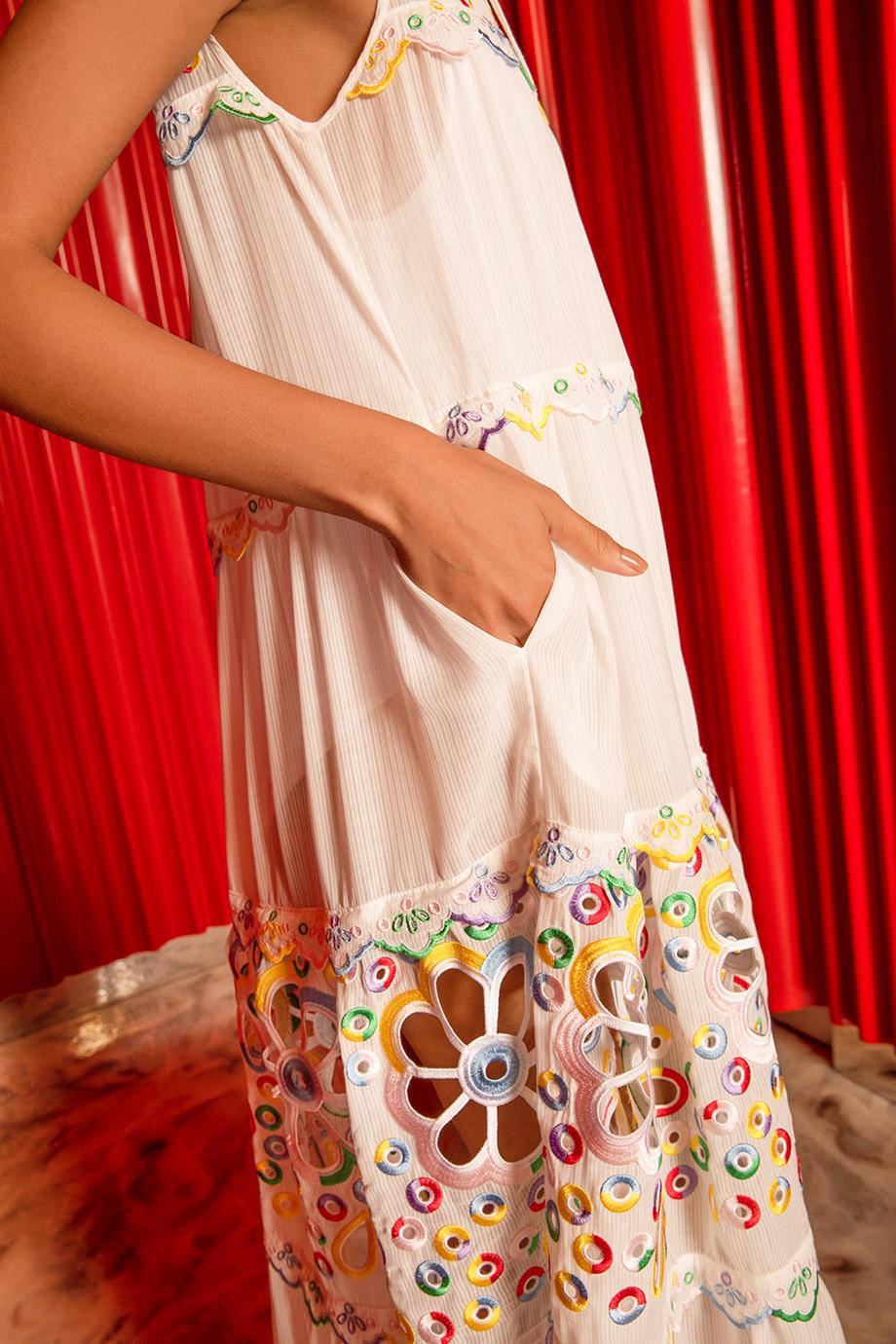 HAMI DRESS – WHITE