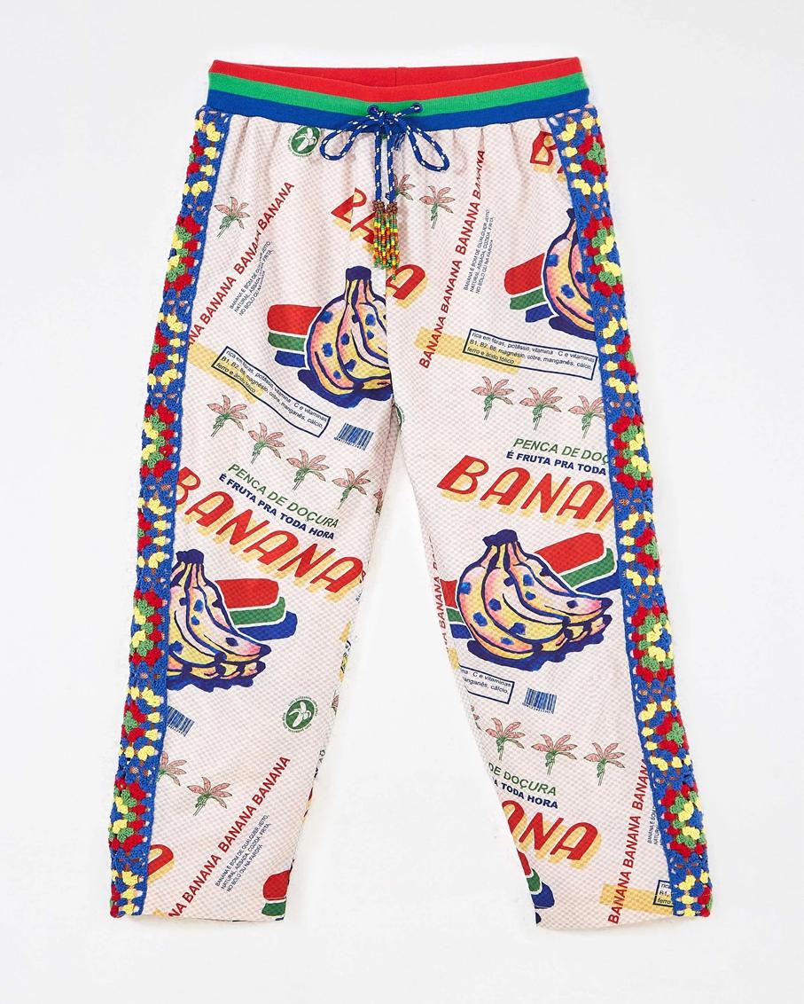 BANANA FAIR PANTS WHITE