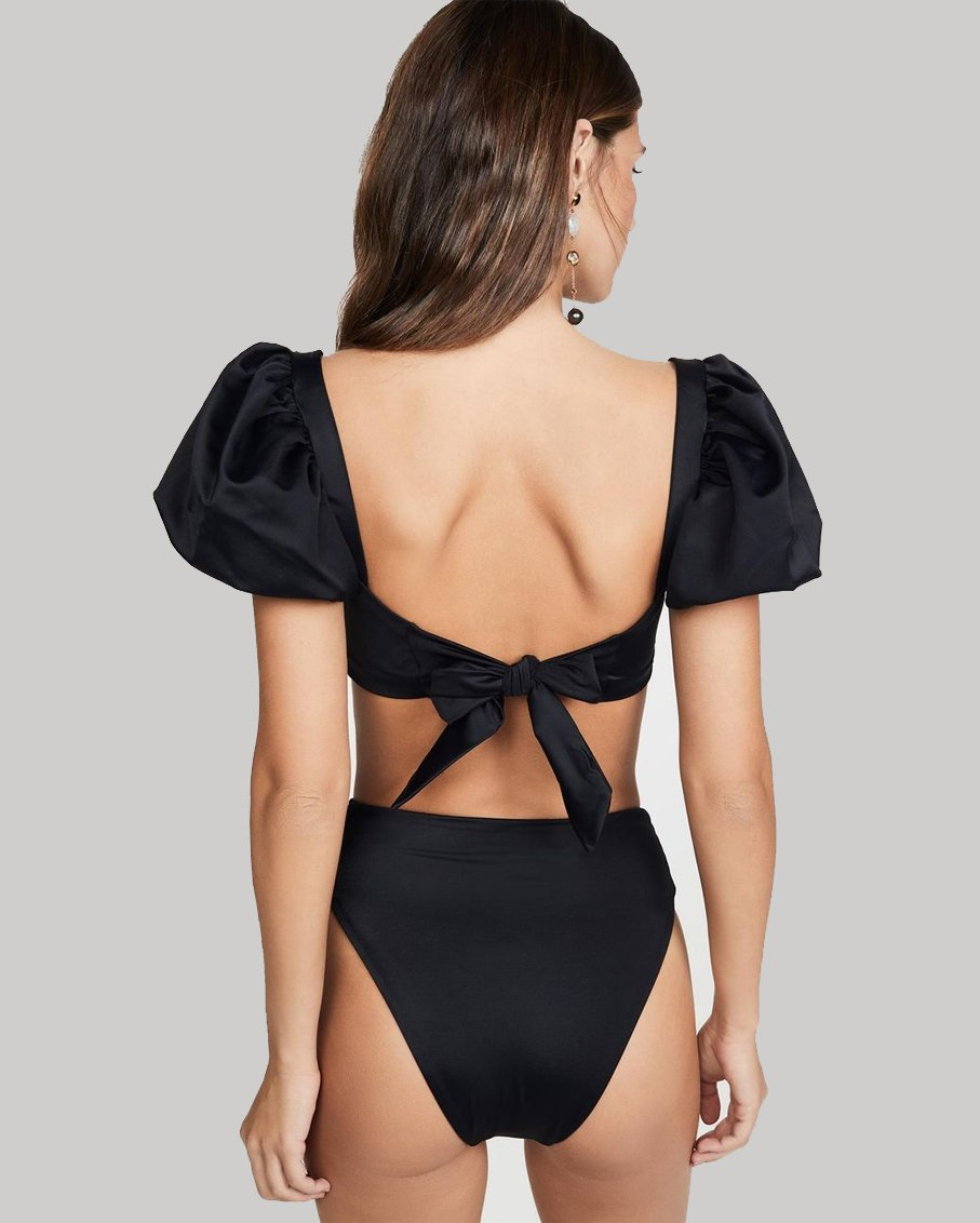 BLACK CALISTA TOP AND ISABELLA BOTTOM LARGE