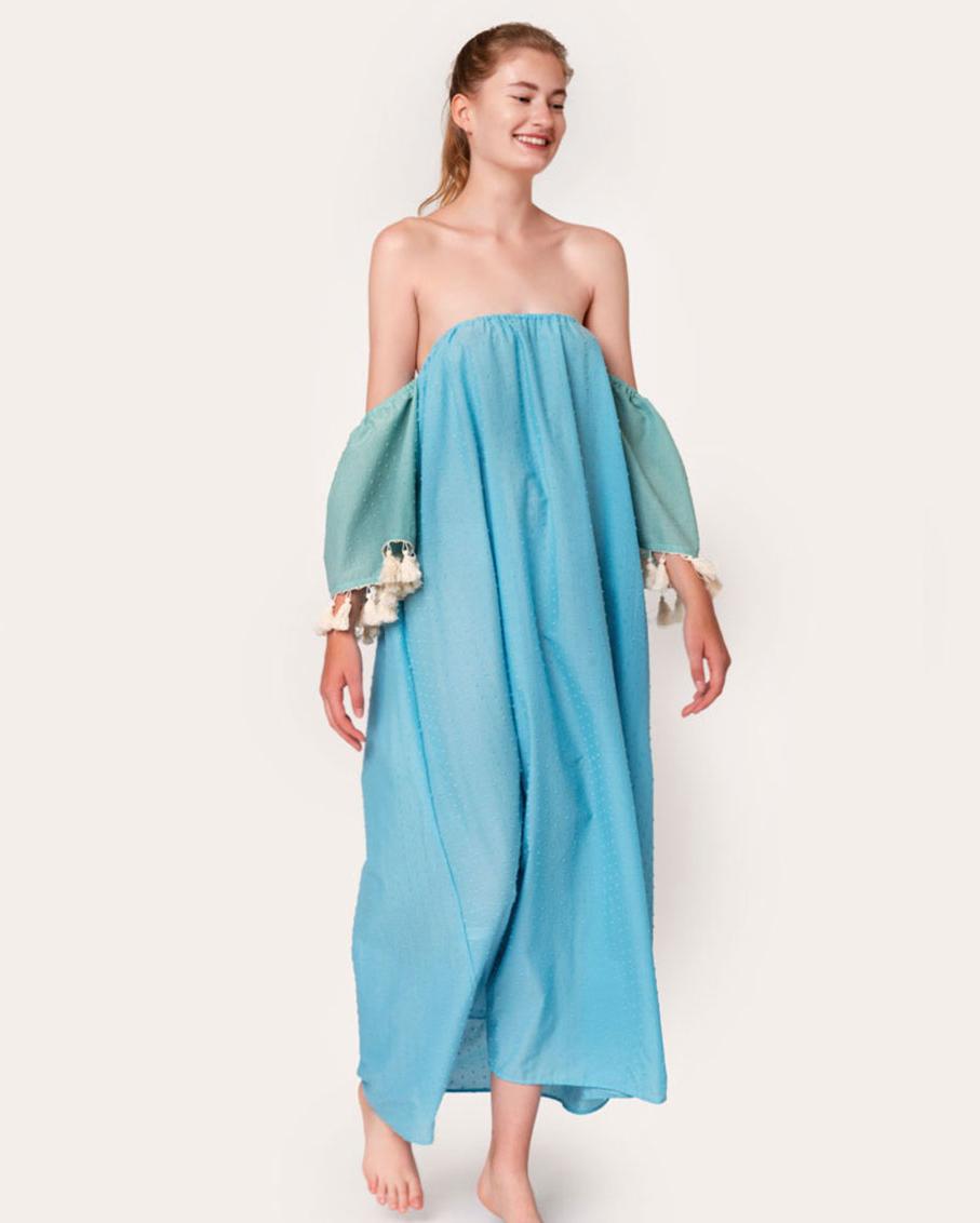 CAMPANA DRESS BLUE ONE SIZE