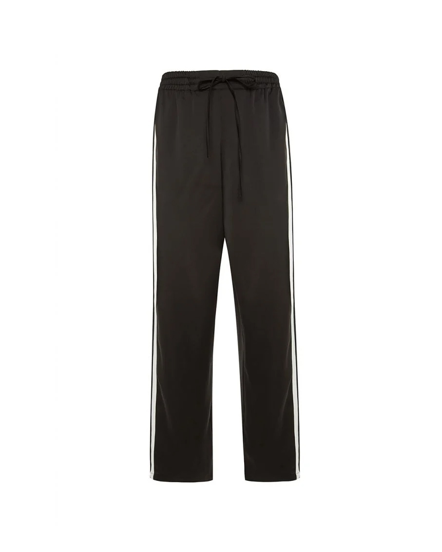 STEF TRACK PANTS IN BLACK