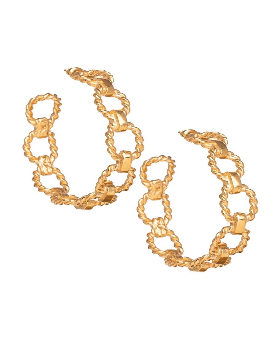 CATENA EARRINGS GOLD