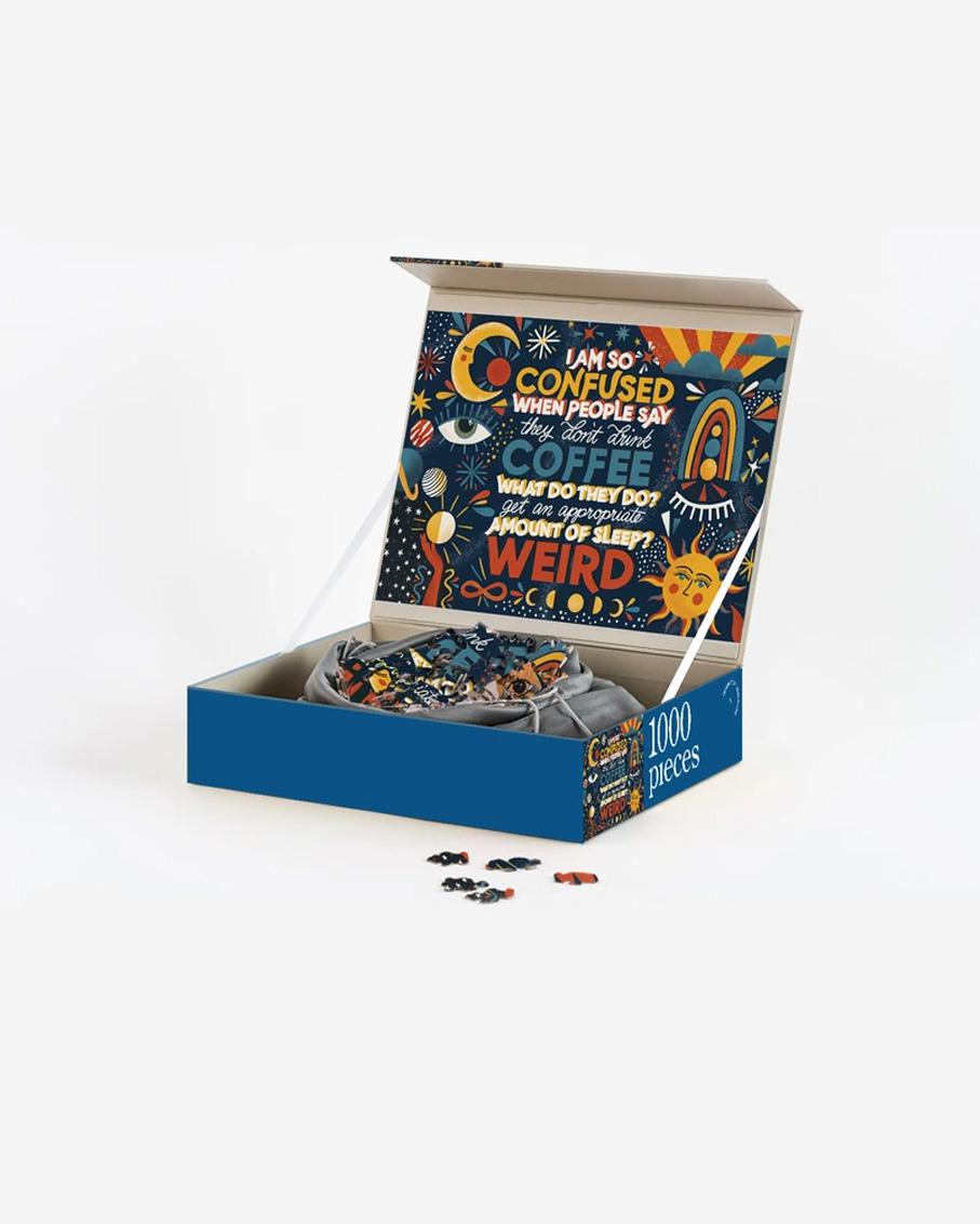 1000 PIECE PUZZLE-THREE QUARTER LATTE