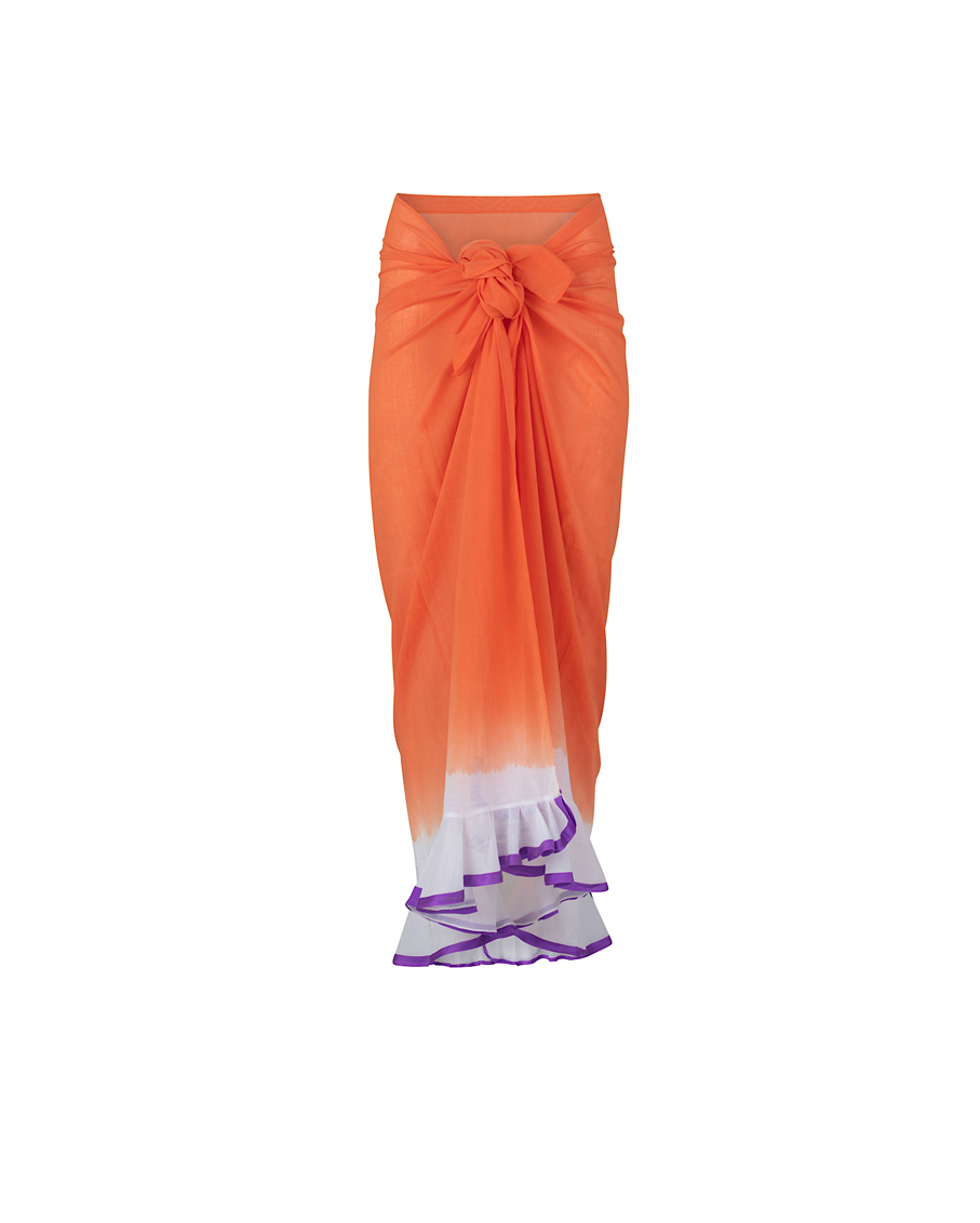 CHANTILLI SARONG ORANGE