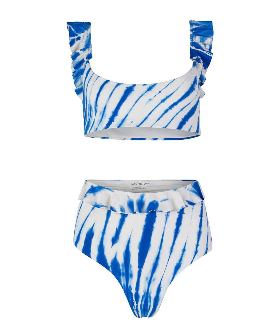 RAKEL TOP AND TULUM BOTTOM SETS SUMMER BLUES