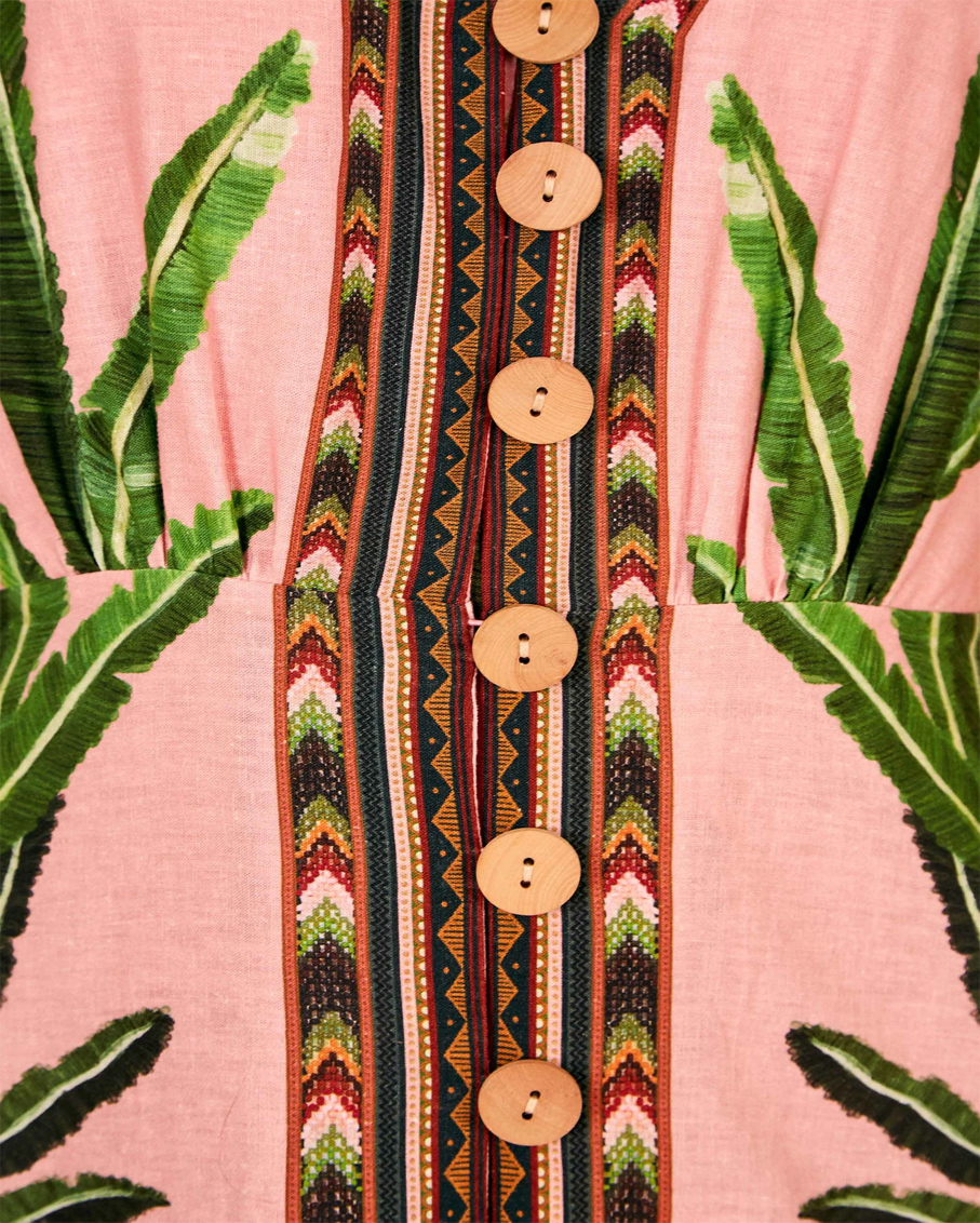 AMAZONIA FOREST MAXI DRESS MULTI COLOR