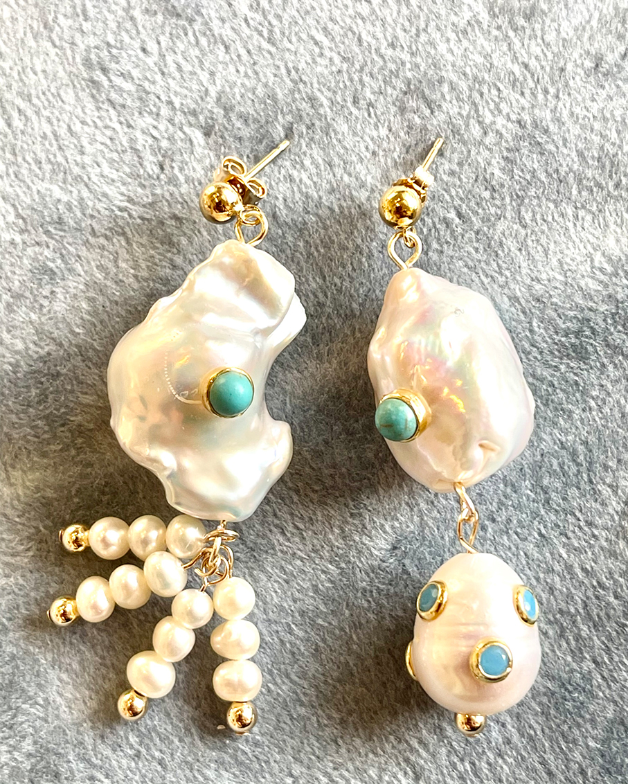 POLO MISMATCHED EARRINGS