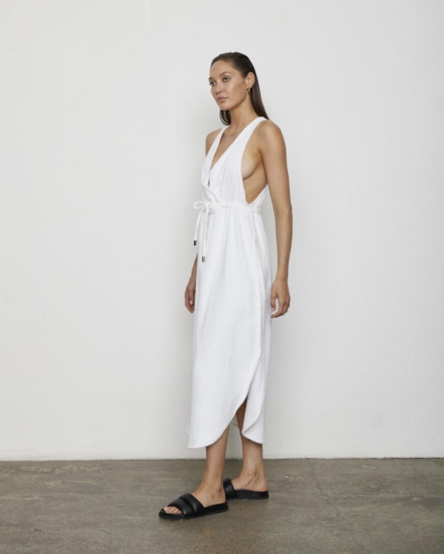THE ERICA DRESS WHITE