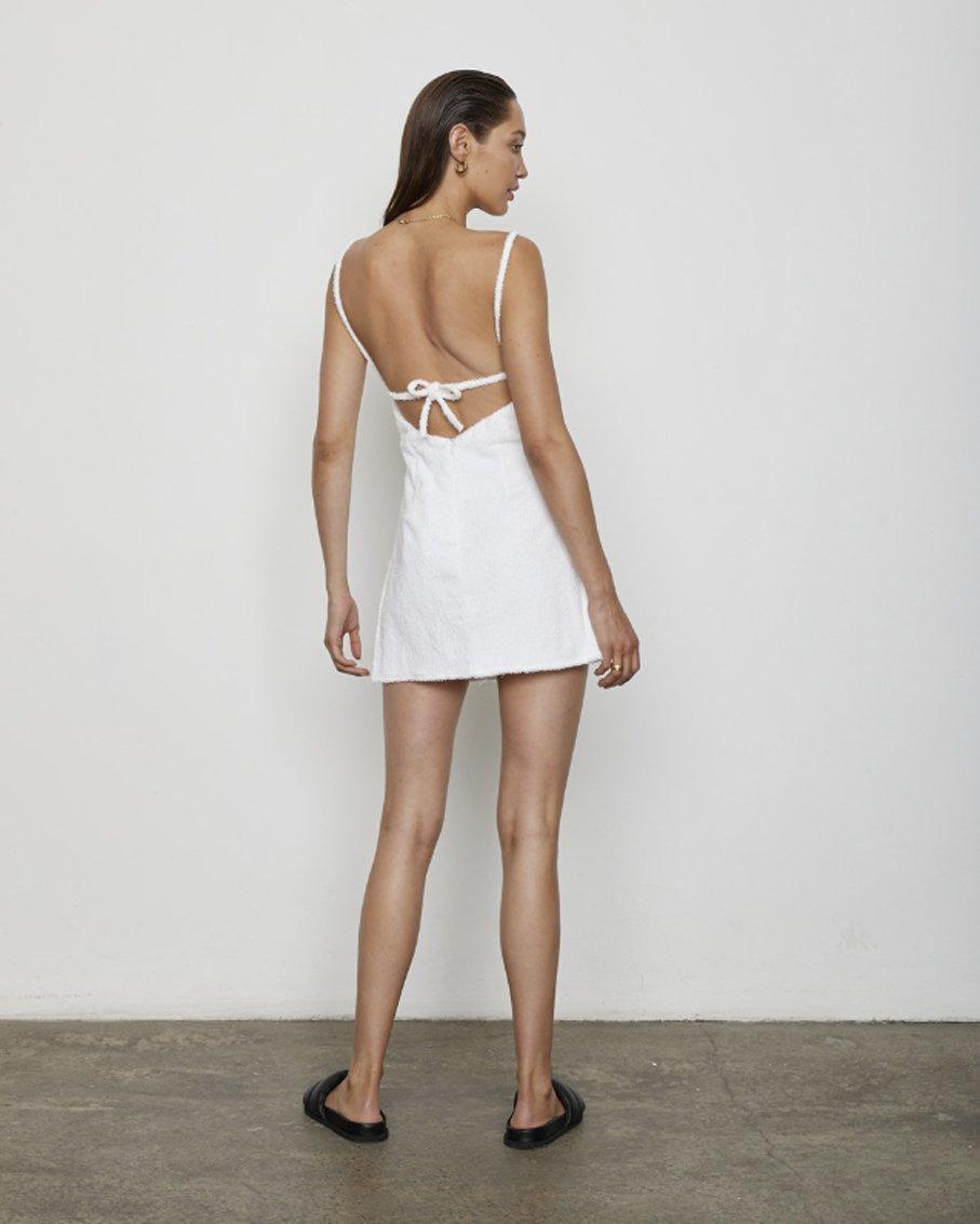 THE HALI DRESS BLANC