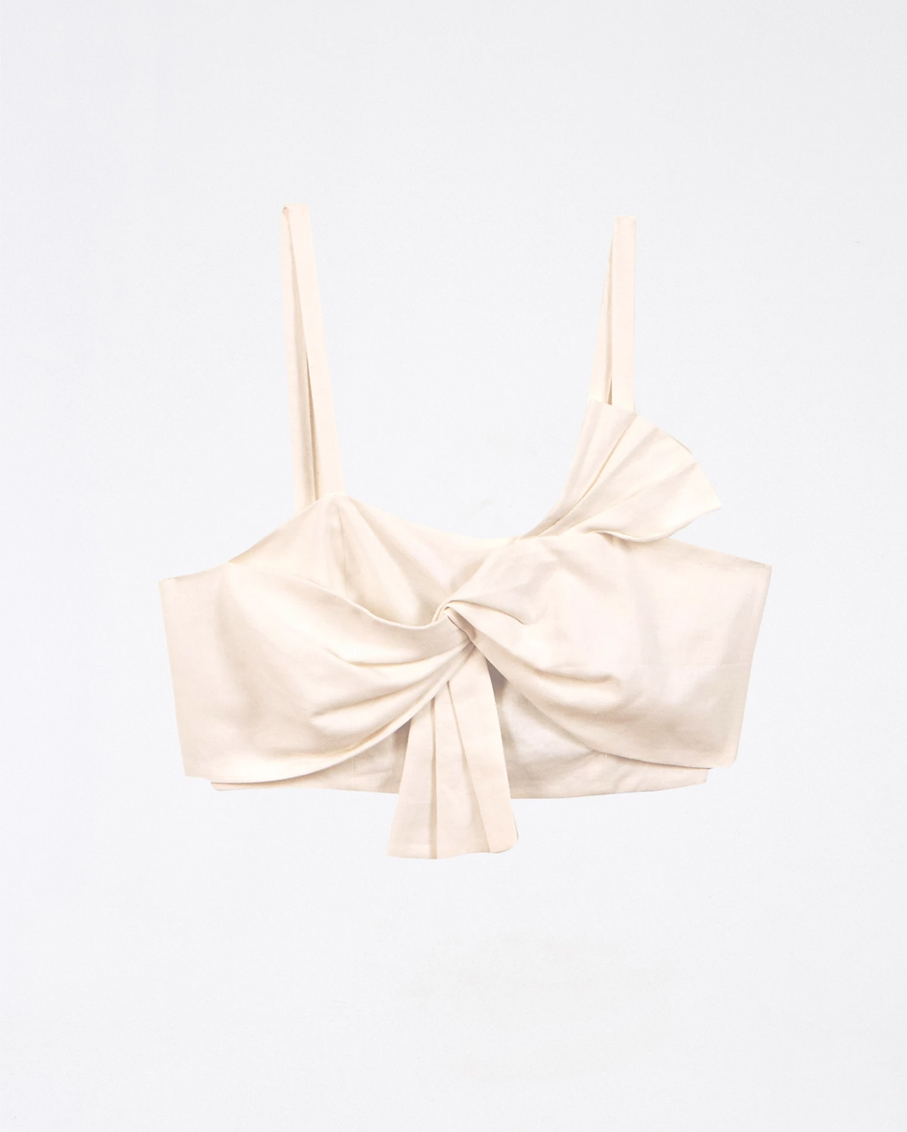 OFF-WHITE FRONT BOW TOP OFF WHITE