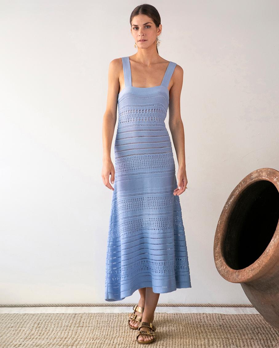 MYRTI CROCHET DRESS