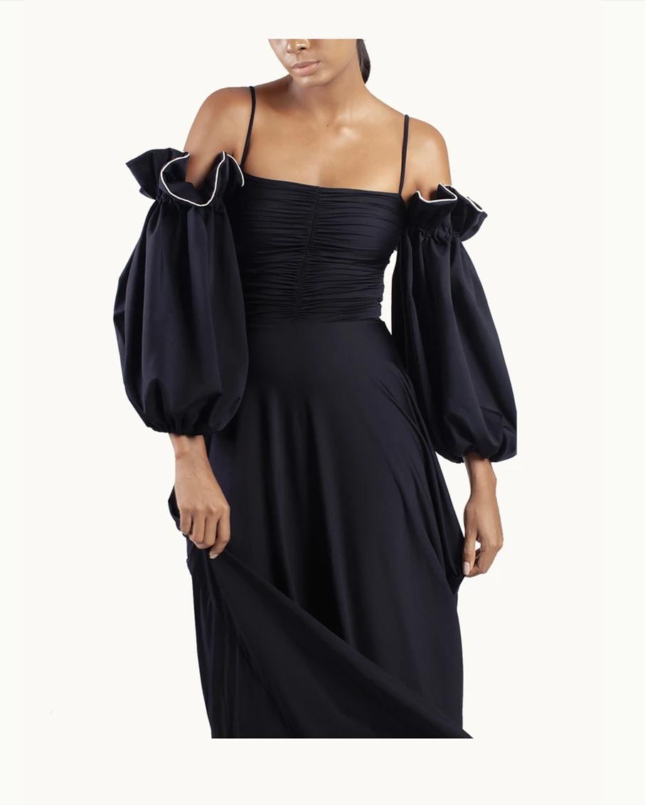 CARLOTTA MAXI DRESS BLACK