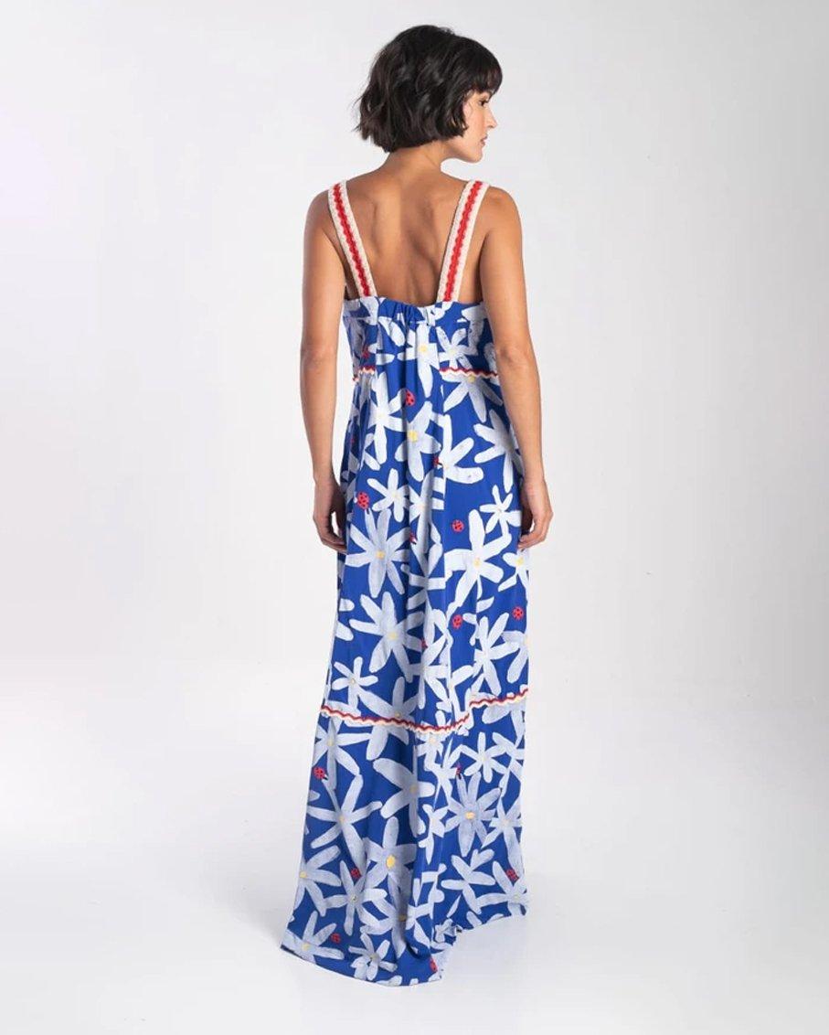 VESTIDO MARGARIDA ROYAL BLUE DRESS