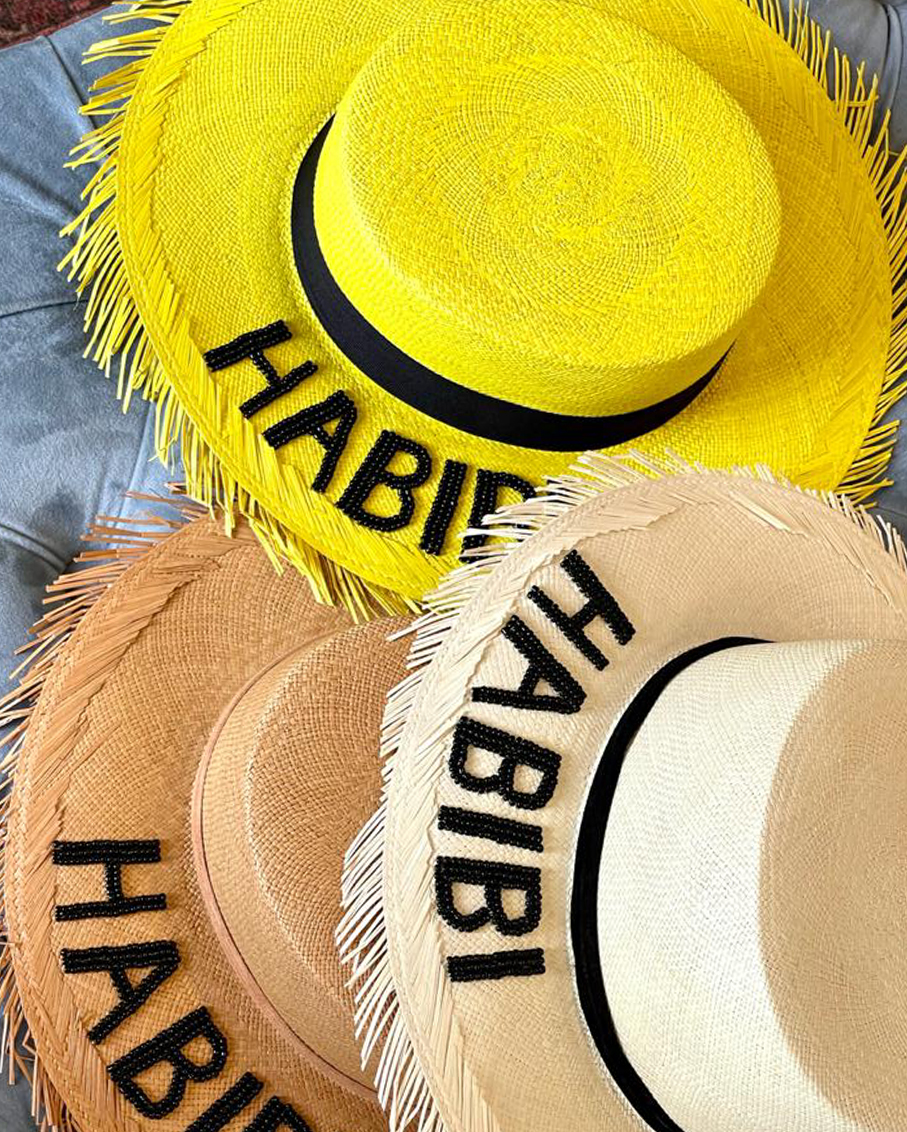 MELROSE HAT- HABIBI IN BROWN COLOUR