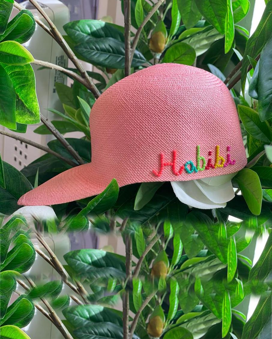 PINK SOHO CAP - HABIBI IN MULTI
