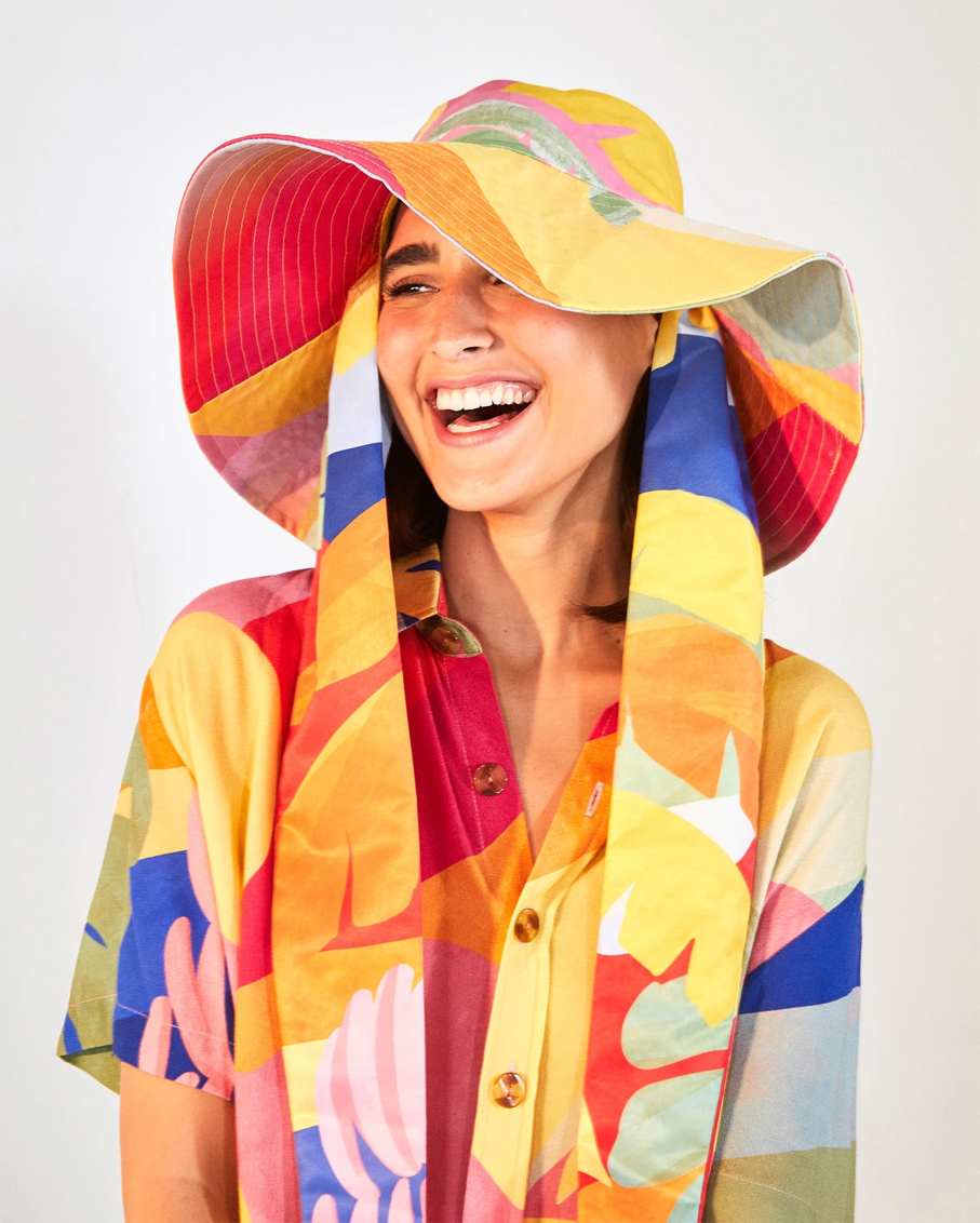 TROPICAL SUNSET HAT_TROPICAL SUNSET_OS