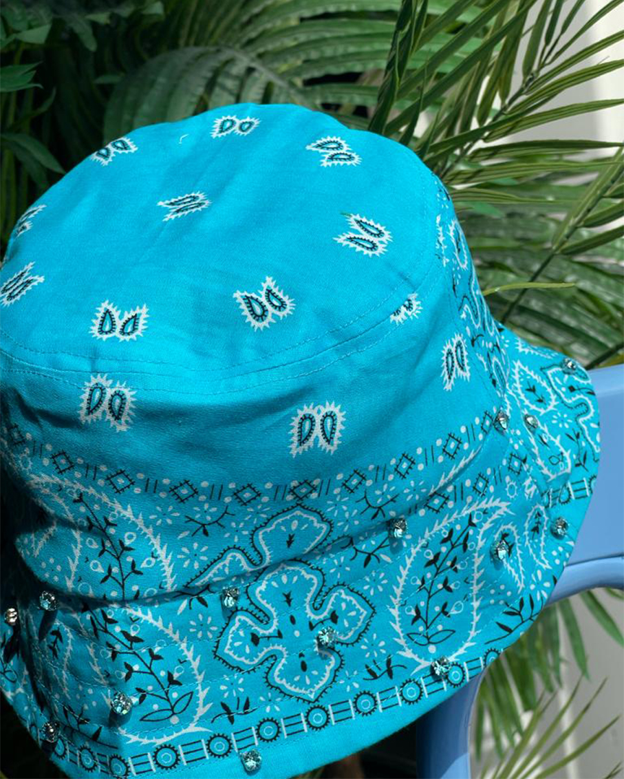 BUCKET HAT-AQUA