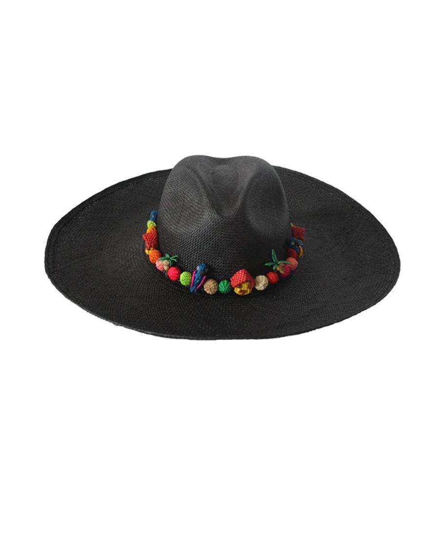 MINI PAJARITO HAT - BLACK