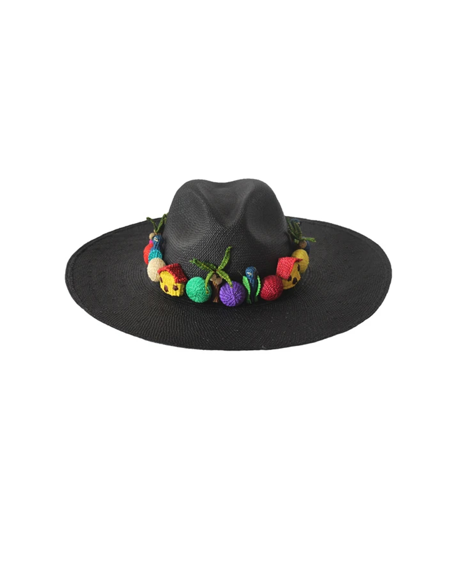 PAJARITO HAT - BLACK
