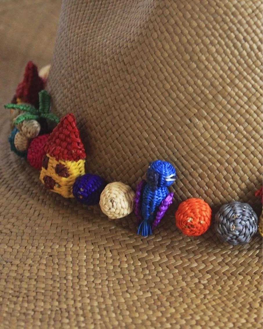MINI PAJARITO HAT - BROWN