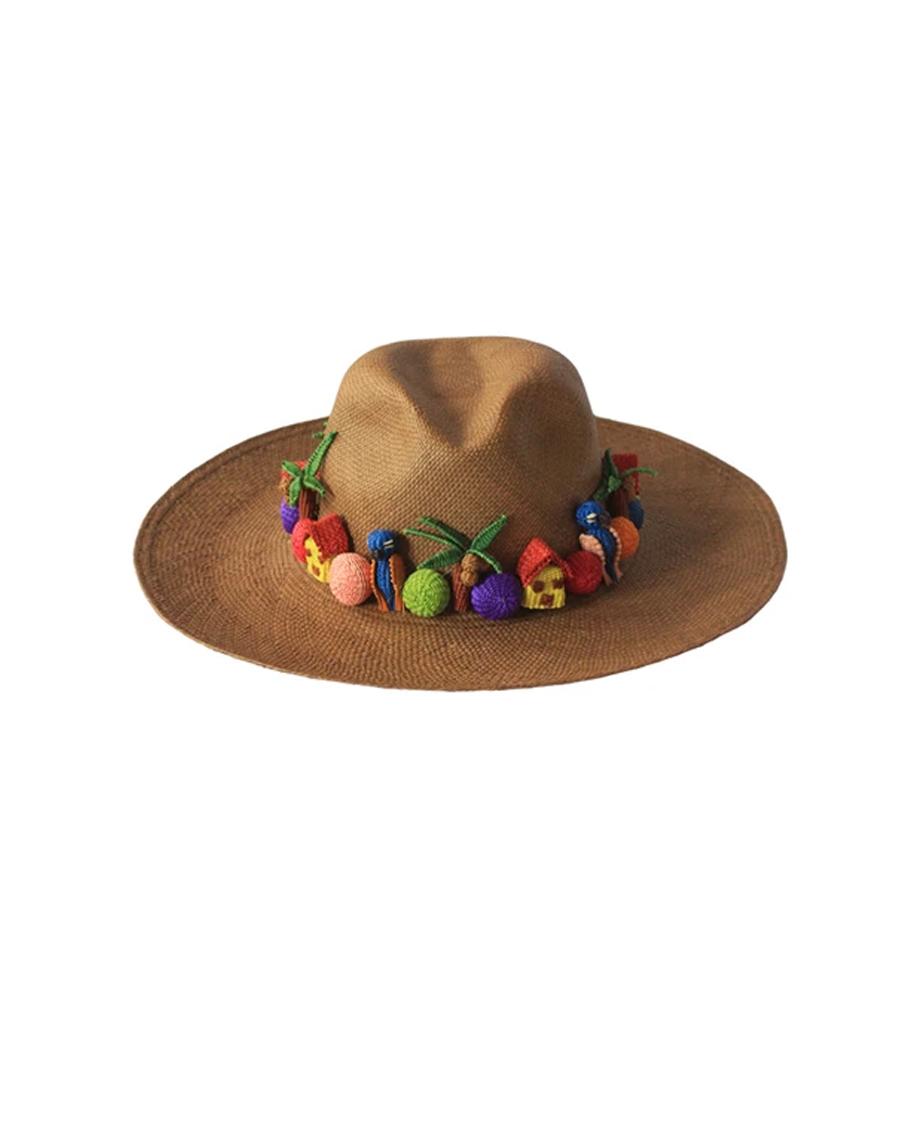 PAJARITO HAT - BROWN