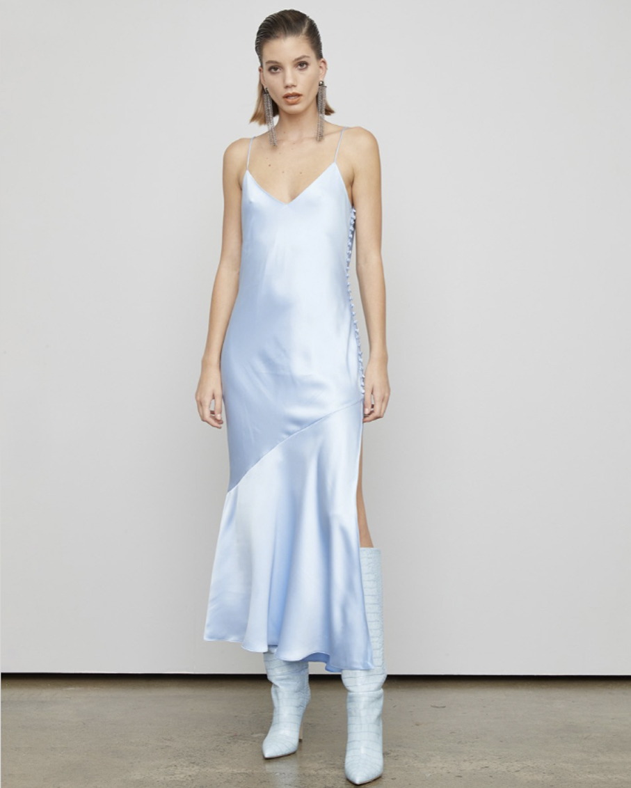 THE ASTEROID DRESS STRATOSPHERE BLUE