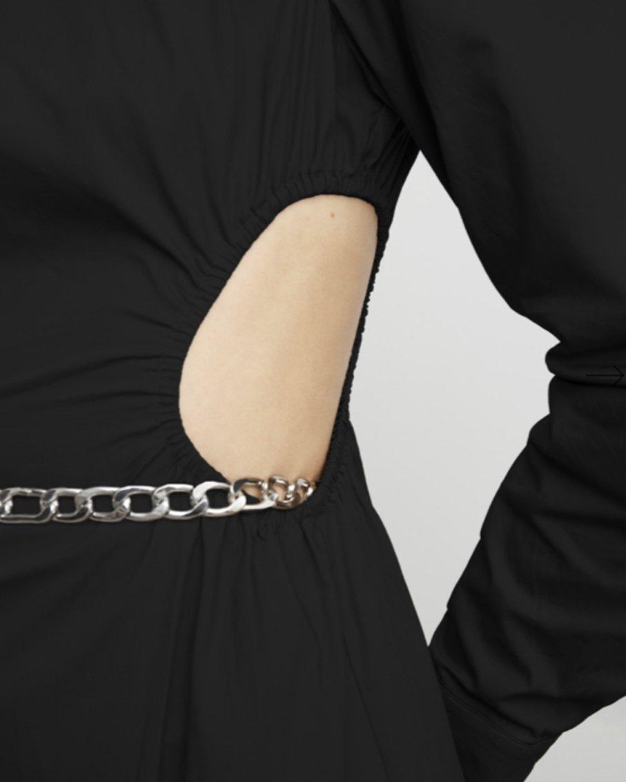 THE HYPNOTIZED DRESS BLACK