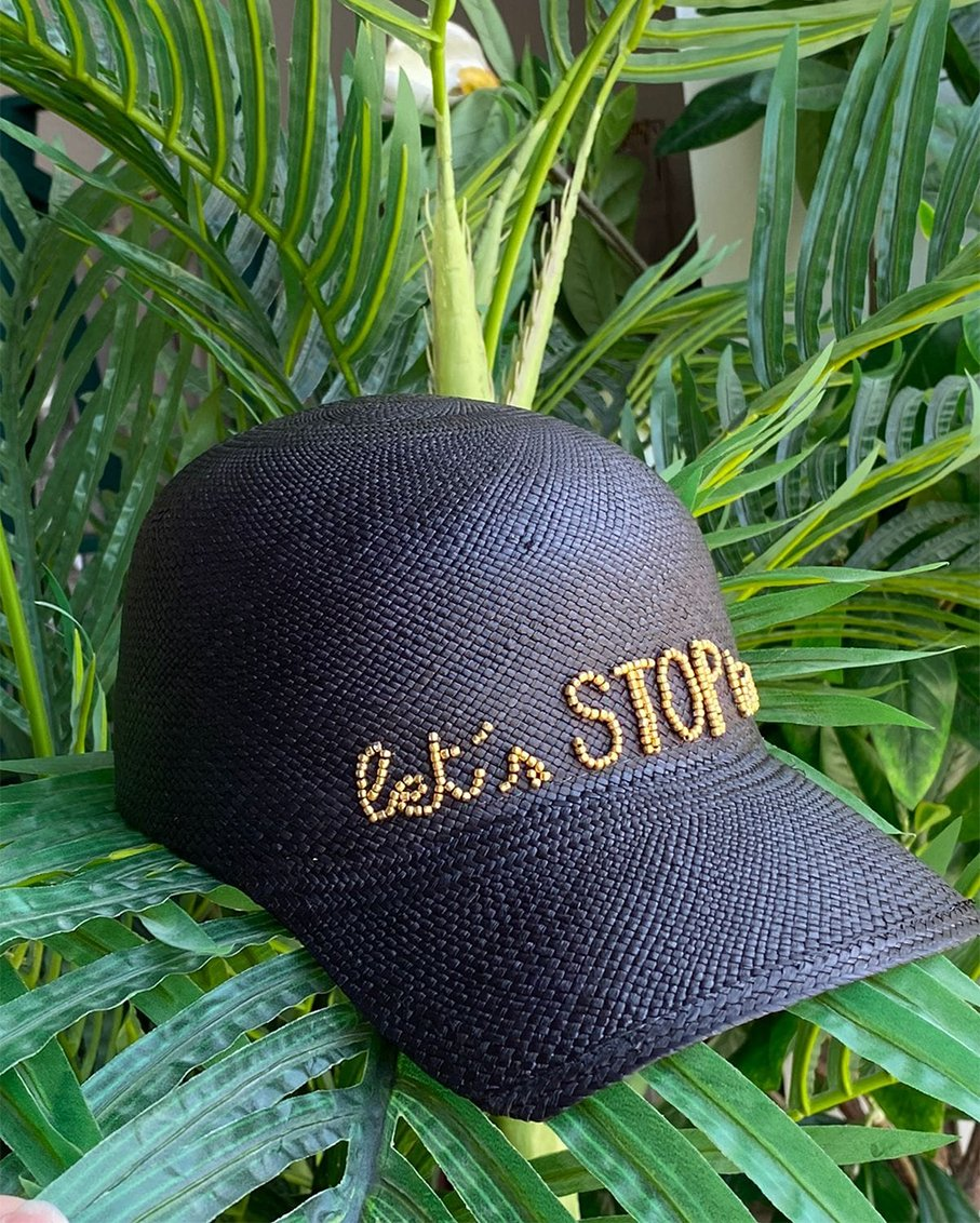 LETS STOP TIME SOHO CAP BLACK