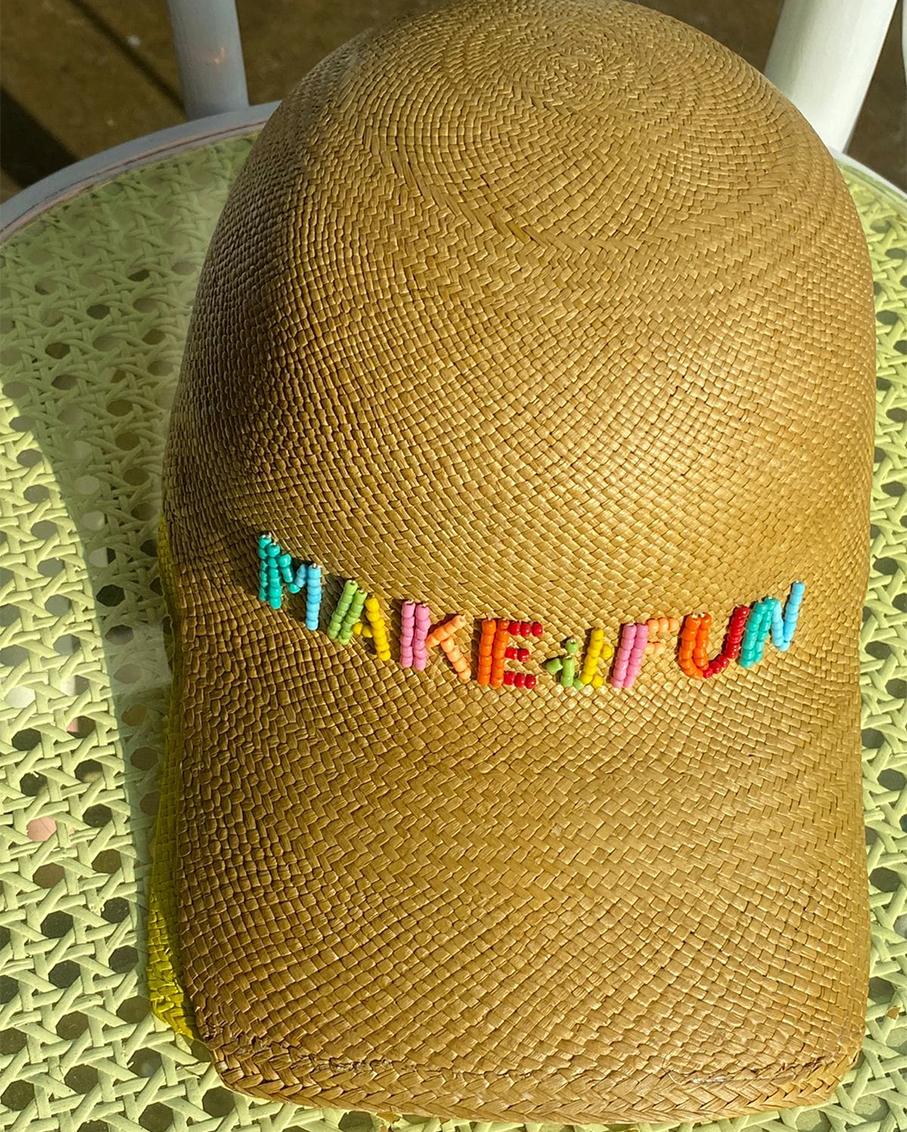 MAKE IT FUN SOHO CAP BEIGE