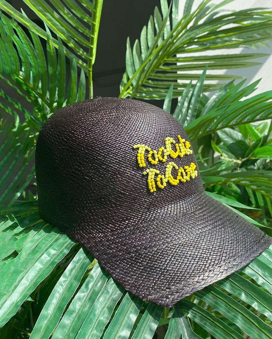 TOO CUTE TO CORE SOHO CAP BLACK