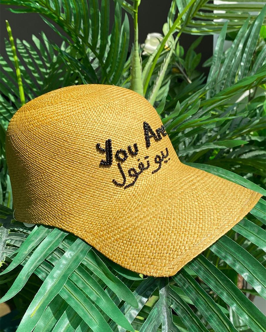 YOU ARE BEAUTIFUL SOHO CAP BEIGE