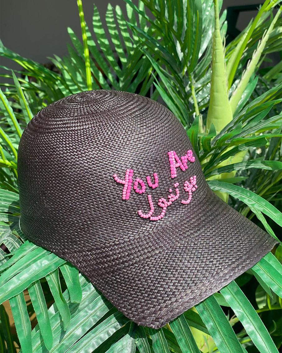 YOU ARE BEAUTIFUL SOHO CAP BLACK