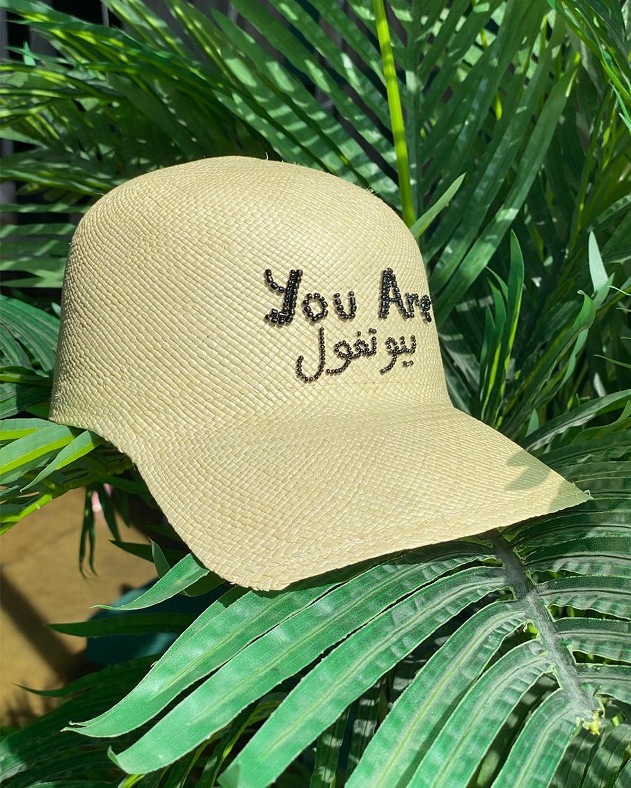 YOU ARE BEAUTIFUL SOHO CAP OFF WHITE