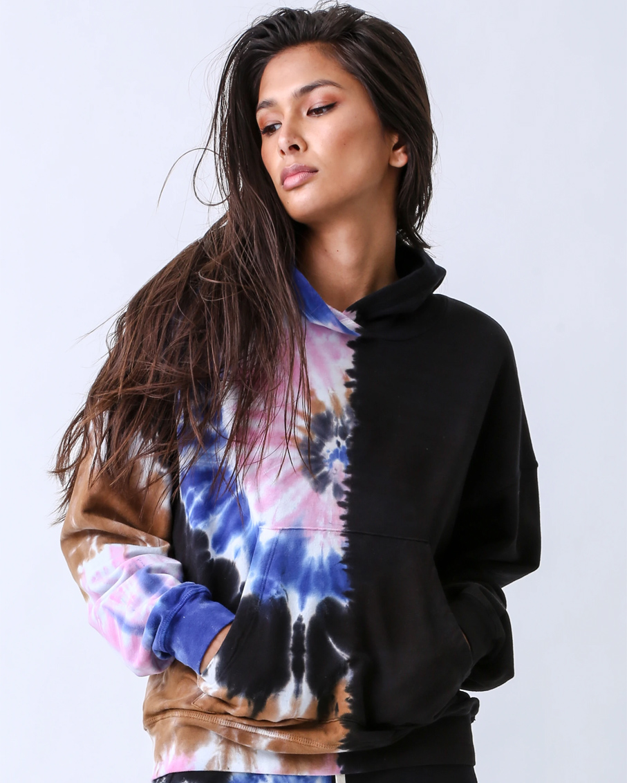 CHASE HOODIE & VENDIMIA JOGGER-SETS ENIGMA ONYX/ SAPPHIRE/ PINK OSPI