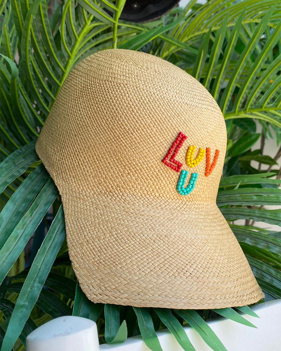 LUV U SOHO CAP BEIGE